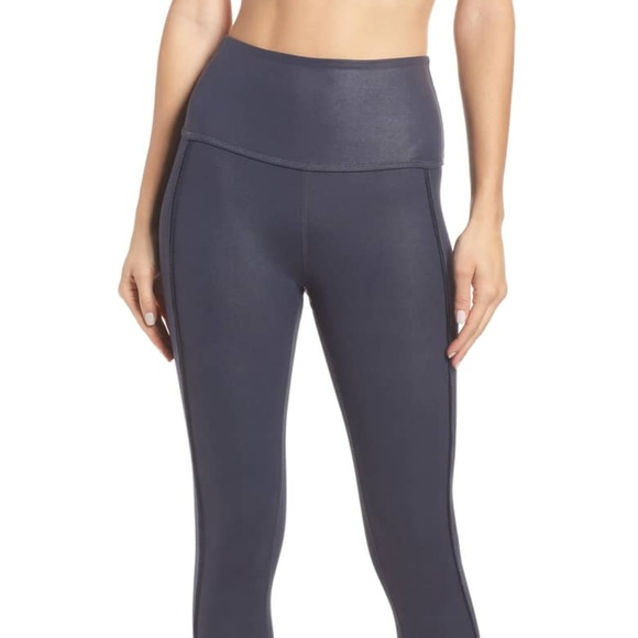61f4010be2392 Pearlized Ride It High Waist Ankle Leggings. Beyond Yoga.  M_5c494e71aa87703c03306972. M_5c494e710cb5aad927c11a79
